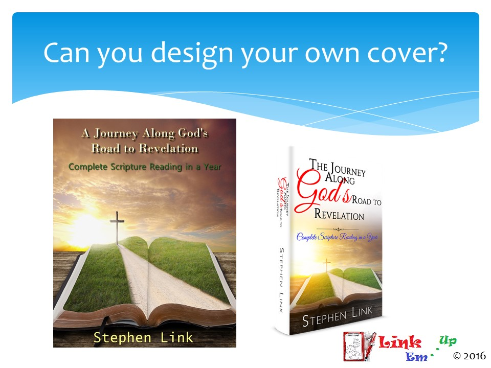 CreateSpace – Designing Your Own Cover
