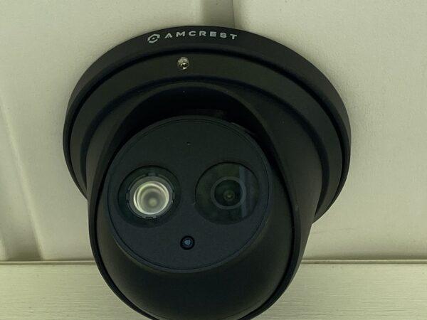 Amcrest T2499E Camera Install On Soffit